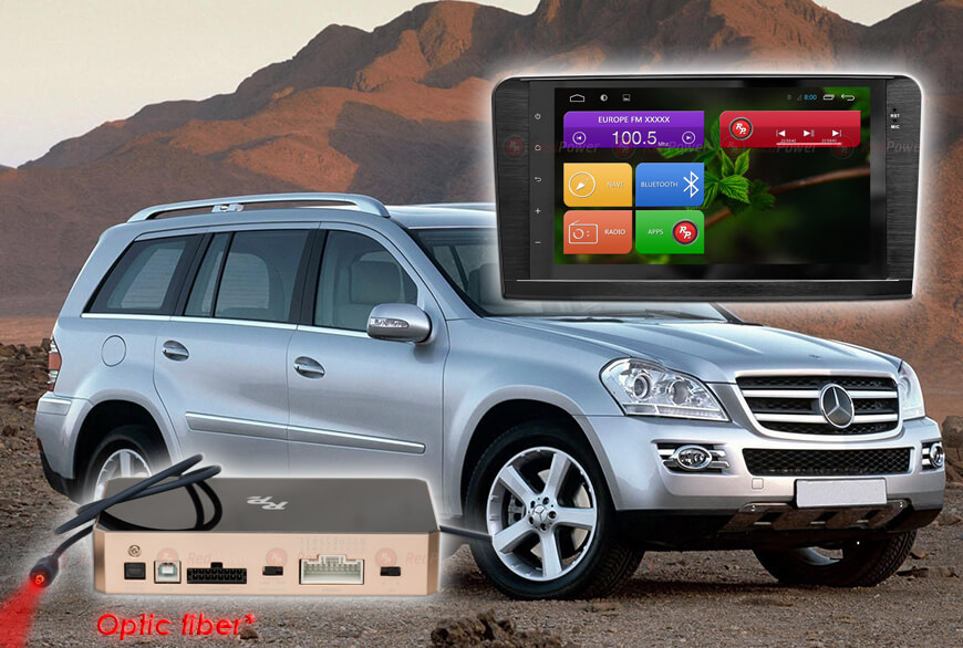 RedPower 31168 IPS DSP ANDROID7. Магнитола Mercedes Benz ML GL (2005-2012)