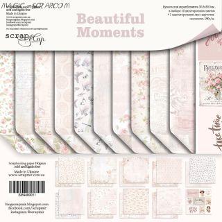 """Набор двусторонней бумаги 30х30см от Scrapmir """"Beautiful Moments"""""""