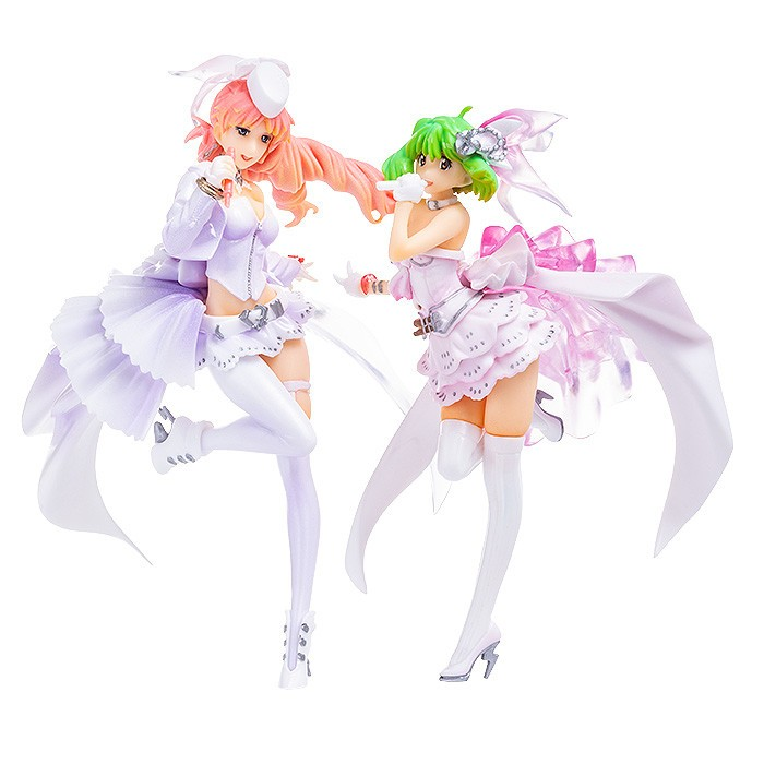 Аниме фигурка Macross Frontier - The Wings of Goodbye Blanches