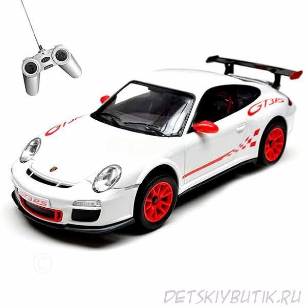 Машинка радиоуправляемая - Porsche GT3 RS, цвет белый, 1:24