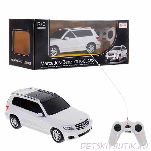 Машина радиоуправляемая - Mercedes GLK, цвет белый, 1:24