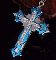 Нательный крест ZWY-10192BL-AL