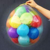 Шар - сюрприз с 30-40 шариками