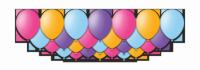 """Набор воздушных шаров с гелием """"Blossom"""", 25 штук"""