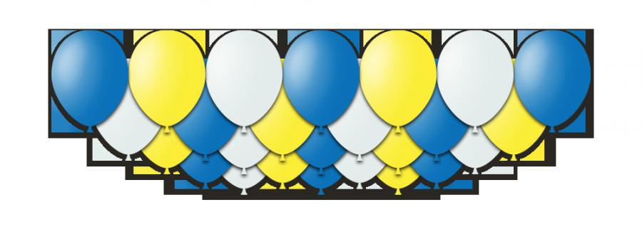 """Набор воздушных шаров с гелием """"Eternity"""", 25 штук"""