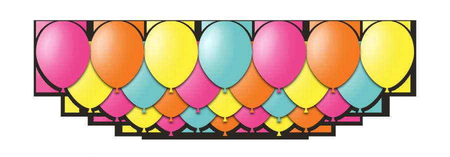 """Набор воздушных шаров с гелием """"Festa"""", 25 штук"""