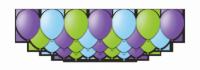 """Набор воздушных шаров с гелием """"Hilarious"""", 25 штук"""