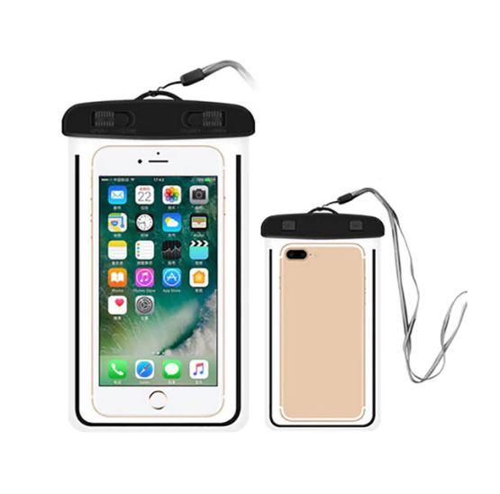 Водонепроницаемый чехол-пакет для телефона, цвет черный