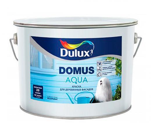 Dulux Domus Aqua полуматовая водорастворимая краска для деревянных фасадов