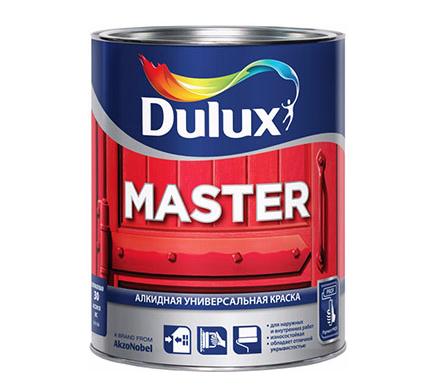 Dulux Master 30 универсальная эмаль полуматовая
