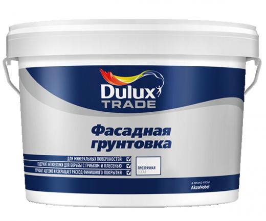 Dulux грунтовка глубокого проникновения фасадная