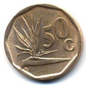 ЮАР 50 центов 1994