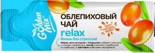 GoldenMix Облепиховый чай Relax, (1*18гр)