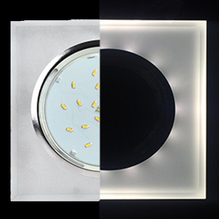 Встраиваемый светильник Ecola SL53SNECH
