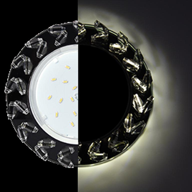 Встраиваемый светильник Ecola SL53RNEFB