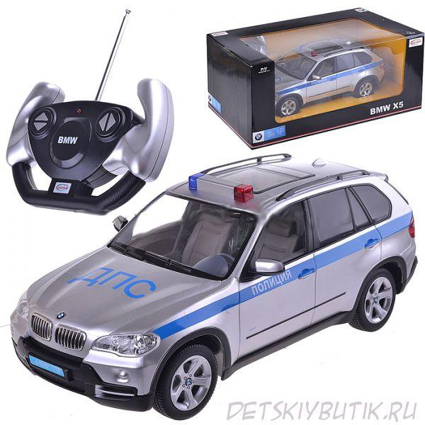 Легковой автомобиль  радиоуправляемый BMW X5 Полиция, 1:14