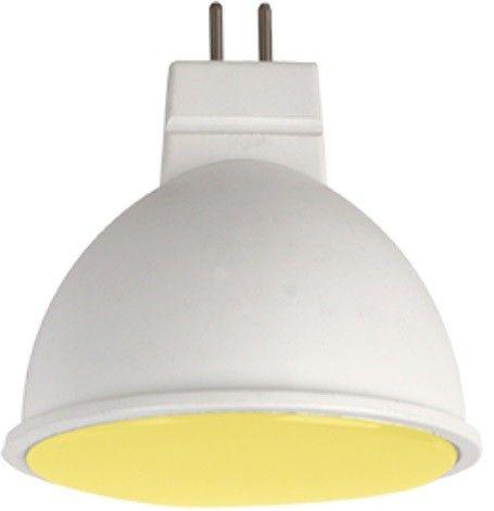 Светодиодная лампа Ecola MR16 GU5.3 220V 7W Желтый матов.  47x50 M2TY70ELC