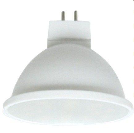 Светодиодная лампа Ecola MR16 GU5.3 220V 8W 6000K 6K 51x50 матов. M2RD80ELC