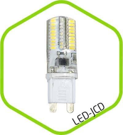 Светодиодная лампа ASD G9 5W 3000К 2K 61x16 пластик standard 4594