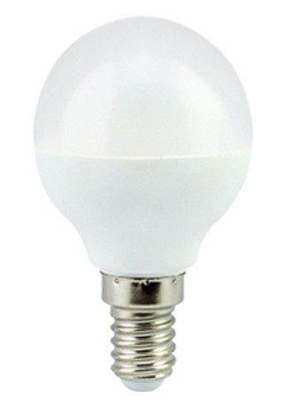 Светодиодная лампа Ecola шар G45 E14 7W 2700K 2K 77x45 K4GW70ELC