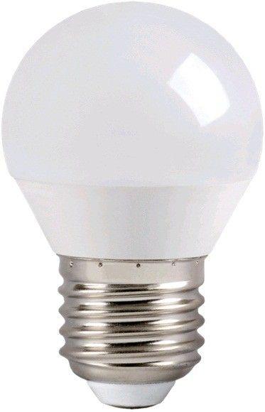Светодиодная лампа IEK шар G45 E27 5W(450lm) 4000K 4K 78x45 матов. ECO LLE-G45-5-230-40-E27