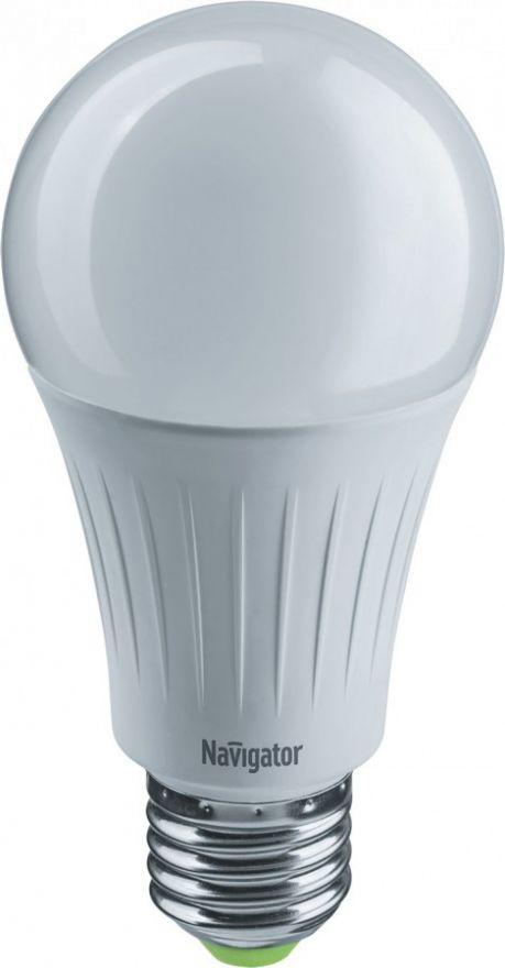 Светодиодная лампа Navigator ЛОН A60 E27 10W(800lm) 2700K, 4000K, 6500K NLL-A60-10-230-3COLOR-E27 61625