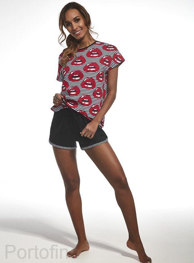 343-139 Пижама женская короткий рукав Cornette