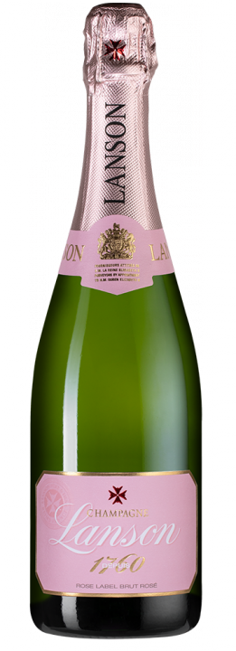 Lanson Rose Label Brut Rose, 0.75 л.