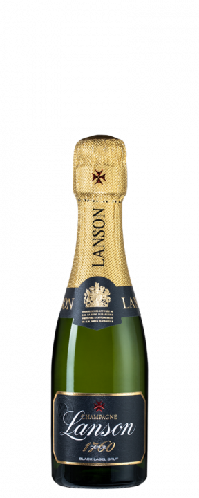 Lanson Black Label Brut, 0.2 л.