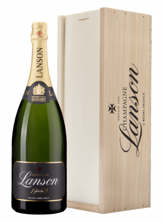 Lanson Black Label Brut, 1.5 л.