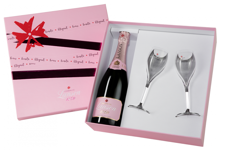 Champagne Lanson Rose Label Brut Rose, 0.75 л.