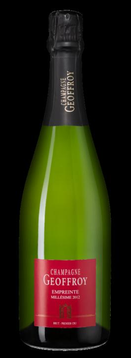 Geoffroy Empreinte Brut Premier Cru, 0.75 л., 2012 г.