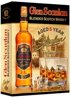 BLENDED SCOTCH WHISKY GLEN SCANLAN AGED 5 YEARS
