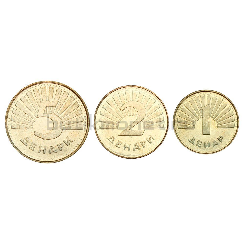 Набор монет 2008 Македония (3 штуки)