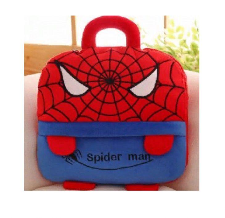 Плед детский сумка подушка Человек-паук 110х160