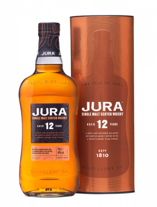 Jura Aged 12 Years, 0.7 л.