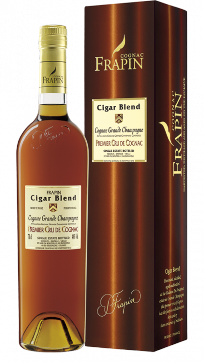 Frapin Cigar Blend Vieille Grande Champagne 1er Grand Cru du Cognac, 0.7 л.