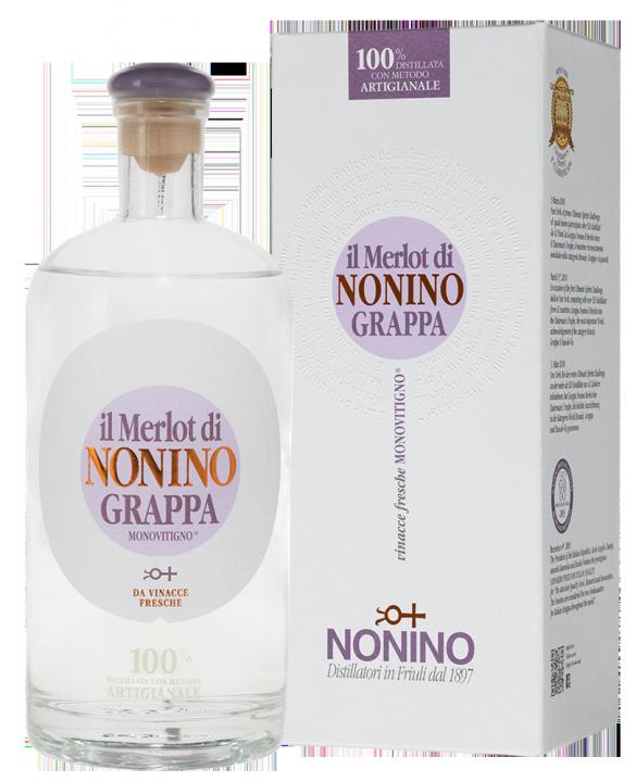 Grappa Monovitigno Il Merlot di Nonino, 0.7 л.