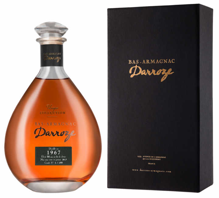 Bas-Armagnac Darroze Unique Collection Chateau de Gaube a Perquie 1967, 0.7 л., 1967 г.