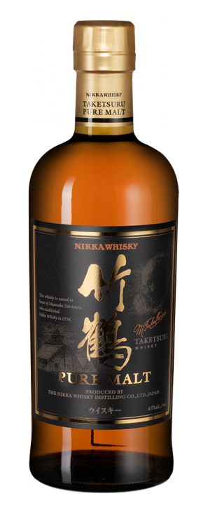 Nikka Taketsuru Pure Malt in giftbox, 0.7 л.