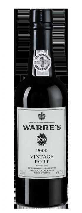 Warre's Vintage Port, 0.375 л., 2000 г.