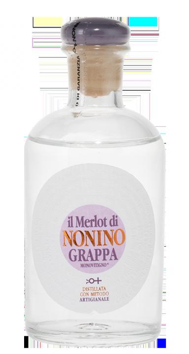 Grappa Monovitigno Il Merlot di Nonino, 0.1 л.