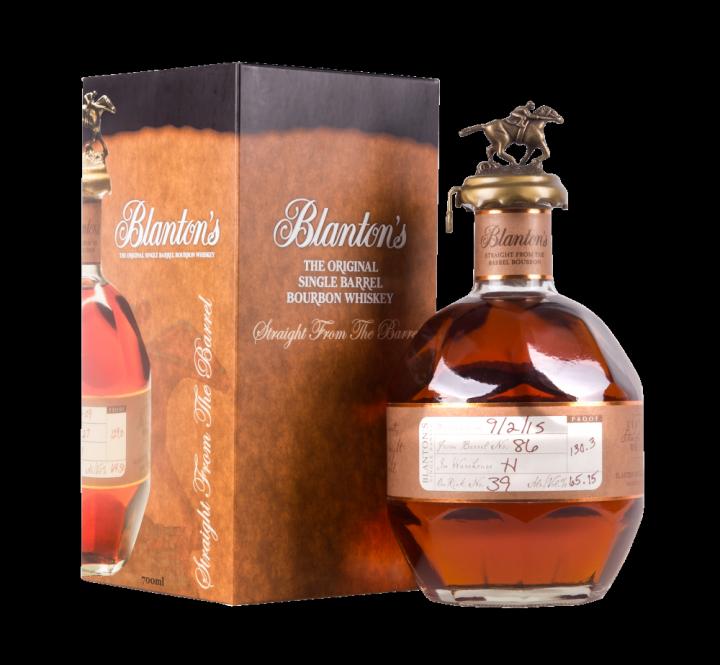 Bourbon Blanton's Straight From The Barrel, 0.7 л.