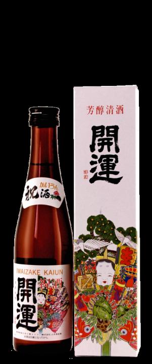 Kaiun Iwaizake, 0.3 л.