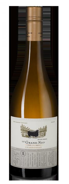 Le Grand Noir Winemaker's Selection Chardonnay, 0.75 л., 2018 г.