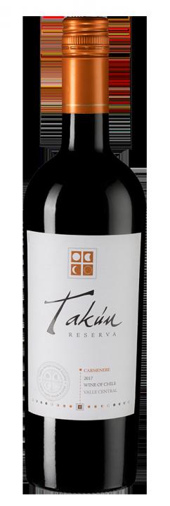 Takun Carmenere Reserva, 0.75 л., 2017 г.