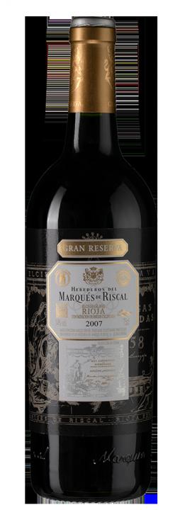 Marques de Riscal Gran Reserva, 0.75 л., 2007 г.