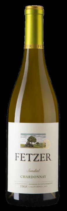 Chardonnay Sundial, 0.75 л., 2017 г.