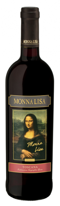 Monna Lisa Rosso, 0.75 л., 2014 г.