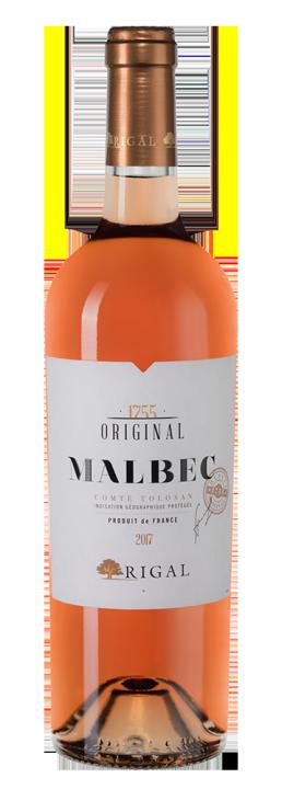 Rigal Malbec Rose, 0.75 л., 2017 г.